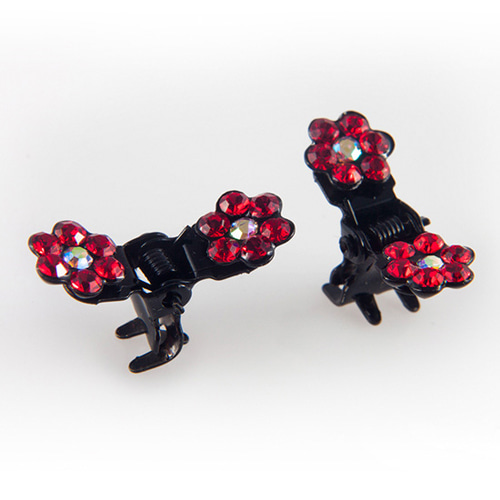 CUBIX CLAWCLIP PIN S SET(RED)