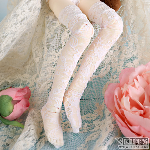 KDF Lace Stocking (White)