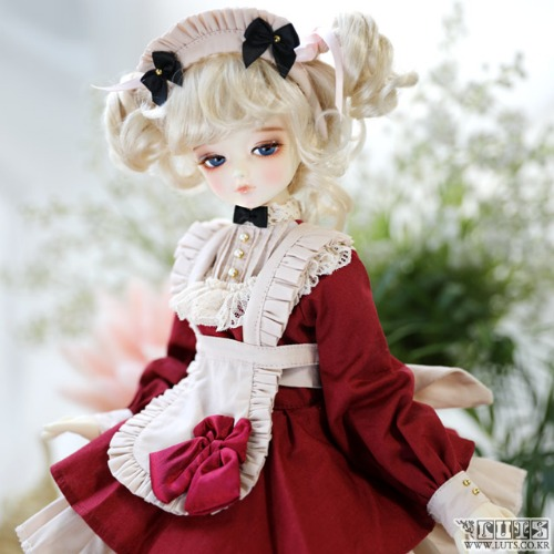 KDF Sweet Waitress Set (Red)