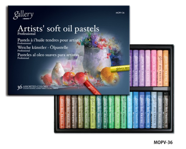 Mungyo Gallery Soft Oil Pastel 36 Color Set / MOPV-36