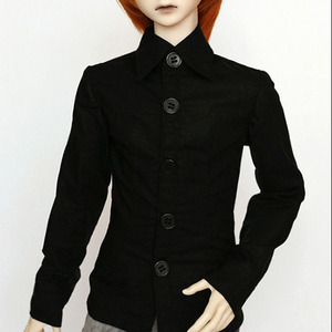 SDF Basic Shirt (Black) For Senior Delf Boy