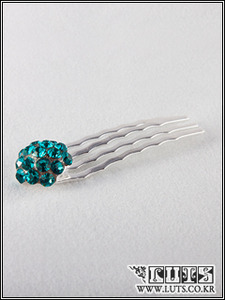 Strawberry COMB Hair PIN(Blue)