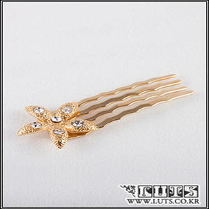 Jasmine COMB Hair PIN(Gold)