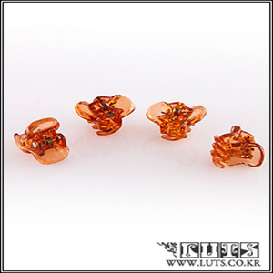 Crab Clawclip PIN SET (Brown)