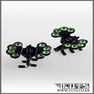 FAN CLAWCLIP PIN SET (Light Green)