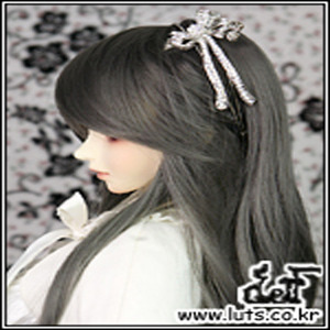 ROSE RIBBON BAND (Size: L)- Silver