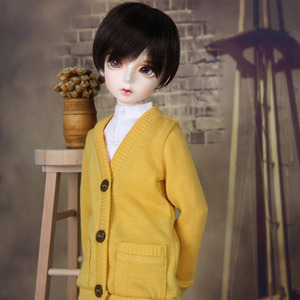 KDF Colorful Cardigan (Yellow)