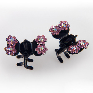 CUBIX TWIN CLAWCLIP PIN SET(LIGHT PINK)
