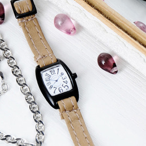 FASHION WATCH (Beige WHITE)