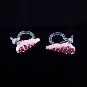 Ear Cuff Wing Pastel Set (Pink)