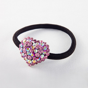 Heart Rubber Band (Pink)