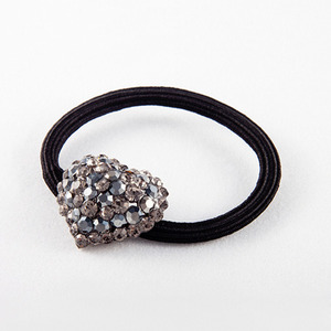 Heart Rubber Band (Black)