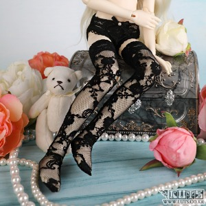 KDF Lace Stocking (Black)
