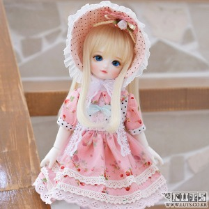 HDF Pink bonnet set