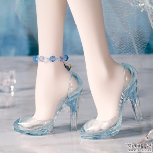 MDF HIGH HEELS Ice Pearl Blue Limited