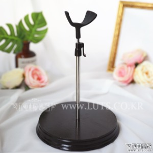 SADDLE DOLL STAND 40cm~45cm (Black, S size)