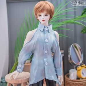 MDF Shining blouse (Sky Blue)