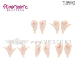 Pureneemo Hand Parts Small A set White Skin