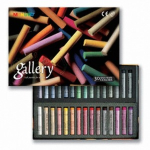Mungyo Gallery Professional Round Pastel 30 Color Set