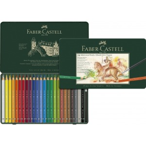 Faber Professional Magnus Watercolor Pencil Set 24 Colors