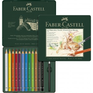 Faber Professional Magnus Watercolor Pencil Set 12 Colors