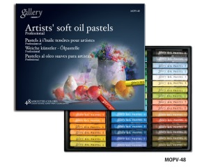 Mungyo Gallery Soft Oil Pastel 48 Color Set