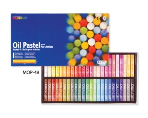 Munkyo Oil Pastel 48 Colors / MOP-48
