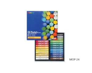 Munkyo Oil Pastel 24 Colors / MOP-24